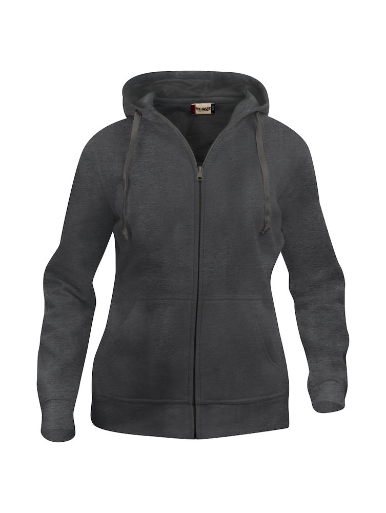 Felpa full-zip donna ANTRACITE