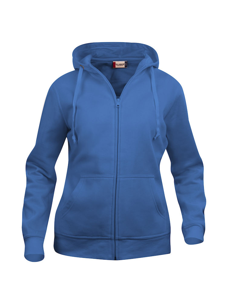 Felpa full-zip donna BLU ROYAL